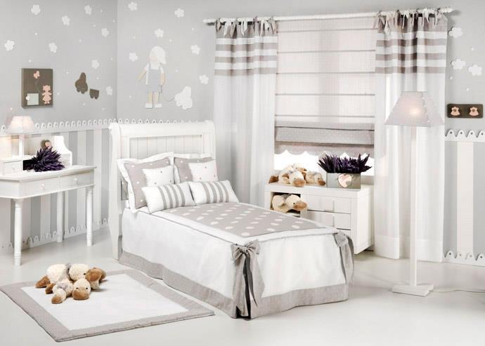 Habitación Infantil color Gris ¿Por qué no?