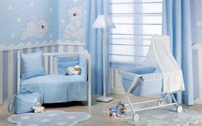 Dormitorio Puericultura Azul