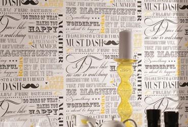 Mustache en Papel Pintado